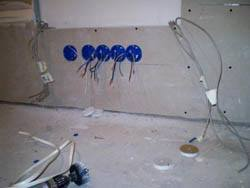 Электромонтажные работы в квартирах новостройках в Белово. Электромонтаж компанией Русский электрик